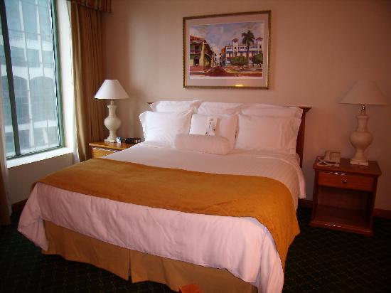 Panama Marriott Hotel : habitacion
