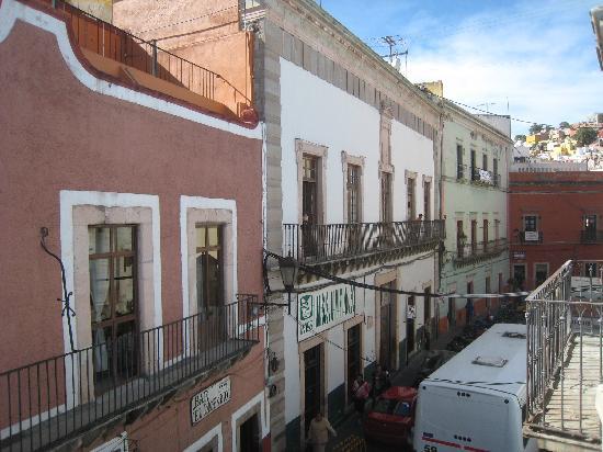 Refugio de Angeles: balcony view