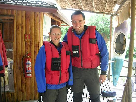 Cascada de las Animas: Rafting trip