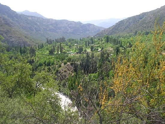 ‪‪Cascada de las Animas‬: View of the valley‬