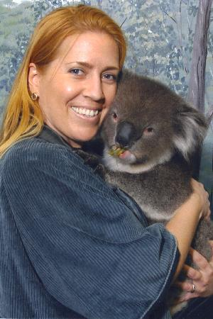Crafers, Australia: Holding a sweet koala (a highlight of my trip to Australia)