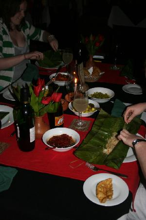 Tulip of Ceylon Nature Resort: Another excellent meal