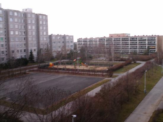 Opatov Hotel: view from our room