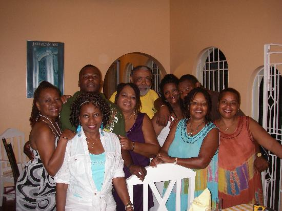 Summerhill Villa: Some of us after a great meal