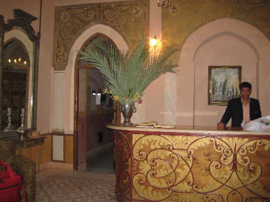 Al Moudira Hotel: Reception Desk