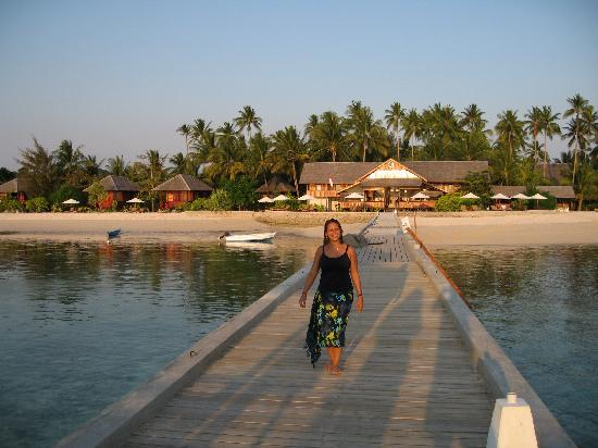 Wakatobi Dive Resort: Long House (where lounge, massage and one bar is) and 2 Beach Bungalows