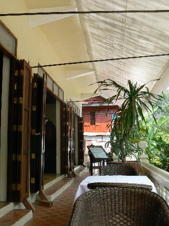 The Apsara : The terrace