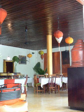 The Apsara : The lobby / restaurant