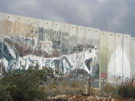 Israel: The wall that separates Jerusalem and Bethlehem