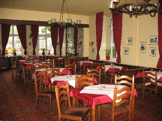 Hotel Furstenhof: Breakfast room