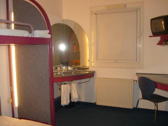 ibis budget Dortmund West: una delle stanze