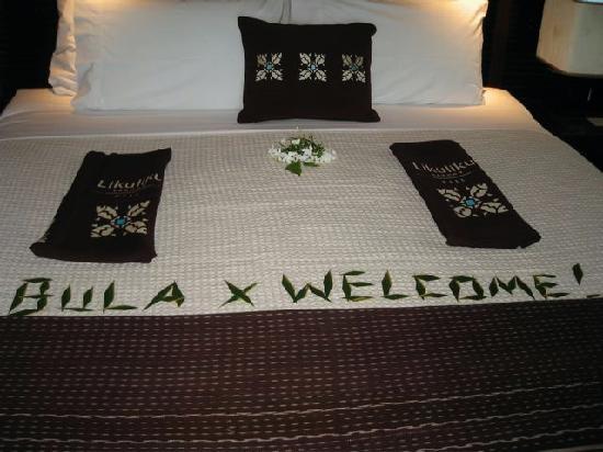 Likuliku Lagoon Resort: Our Bed