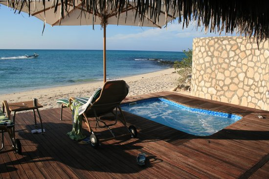 Anantara Medjumbe Island Resort: our deck