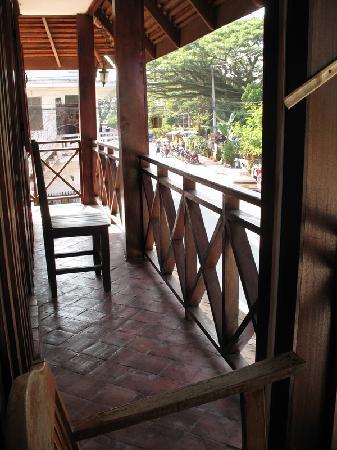 MuongLao Riverside by Villa Xandria : The balcony