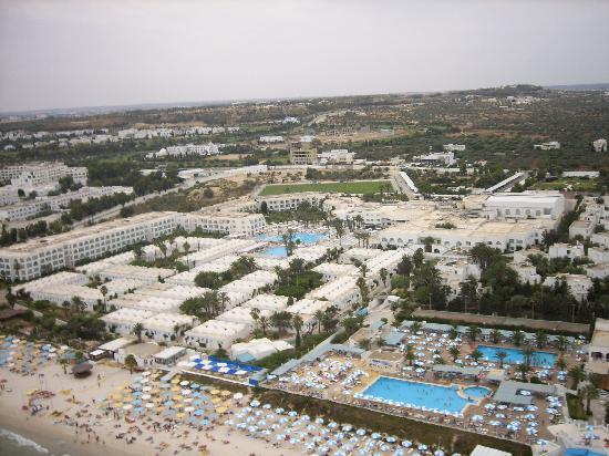 El Mouradi Club Selima: Vue aérienne de l'hôtle