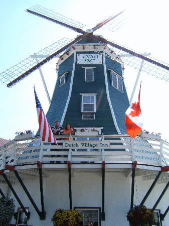 Dutch Village Inn: The Windmill!