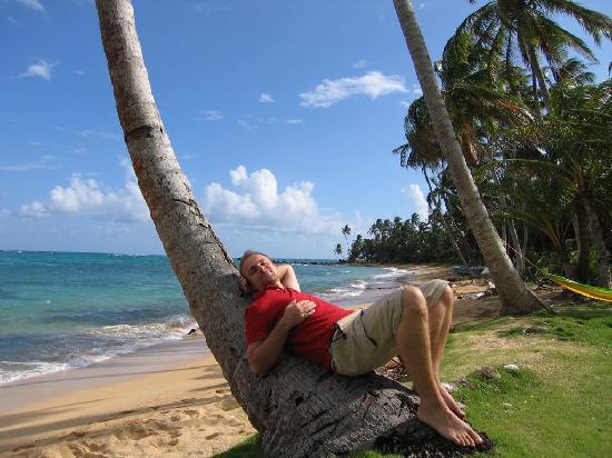 Derek's Place: Strandfoto nach Rechts mit mir