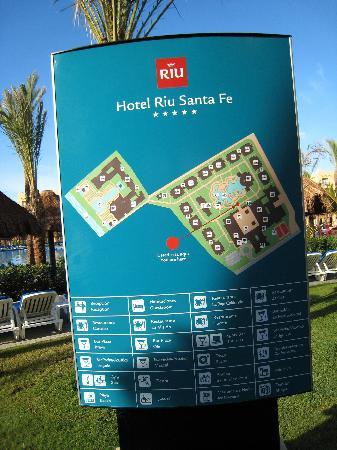 Riu Layout Picture Of Hotel Riu Santa Fe Cabo San Lucas