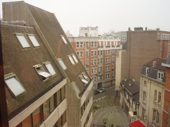 NH Brussels Louise: view from rm 603