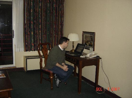 Garfield Suites Hotel: Internet ready