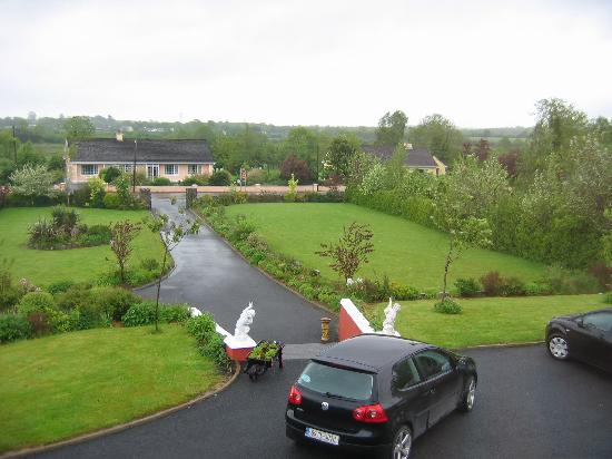 Corofin, Ireland: The view from our window.