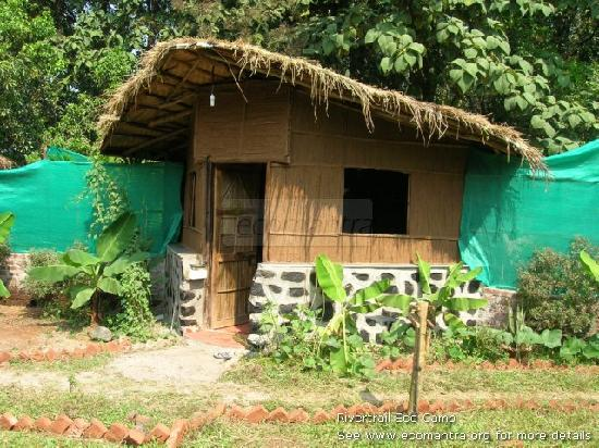 Ecomantra's Rivertrail Eco Camp : Safari Cottage