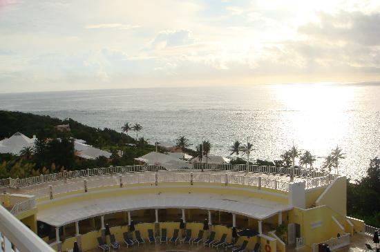 Elbow Beach, Bermuda: View from the main bldg - 4th floor