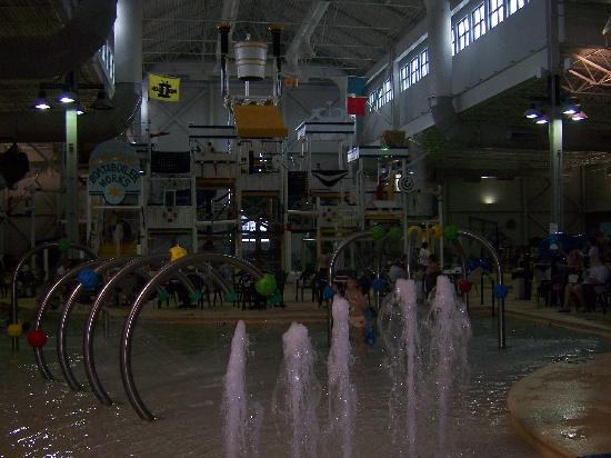Grand Harbor Resort and Waterpark: The park.