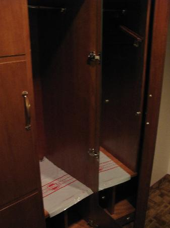 Wyndham Garden Baronne Plaza New Orleans: Clothes Closet