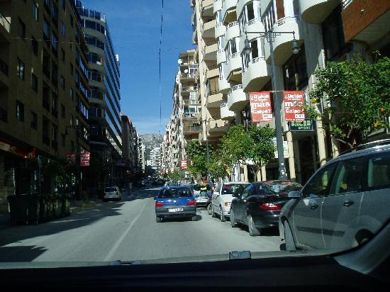 Кальп, Испания: The Avenida Gabriel Miro