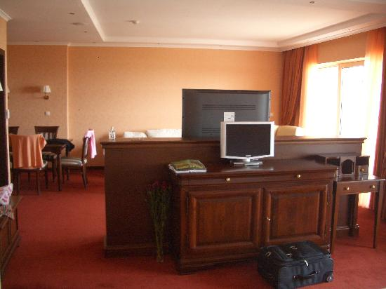 Grand Hotel Pomorie: Inside our hotel room