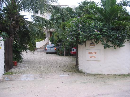 Villa Dolce Vita - Soliman Bay: Entrance to Dolce Vita