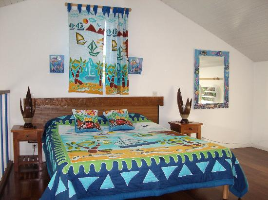Residence des Iles Martinique: loft bedroom