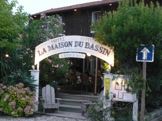 La Maison du Bassin : Hotel entrance