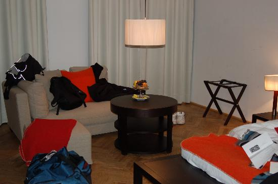 Hotel Hollmann-Beletage: The room