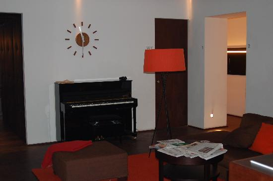 Hotel Hollmann-Beletage: The lounge area