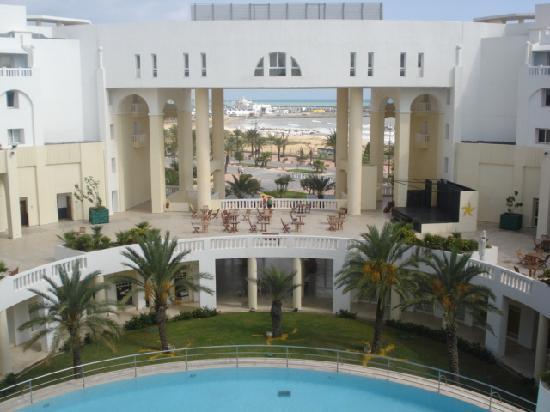 Medina Solaria & Thalasso: view from balcony