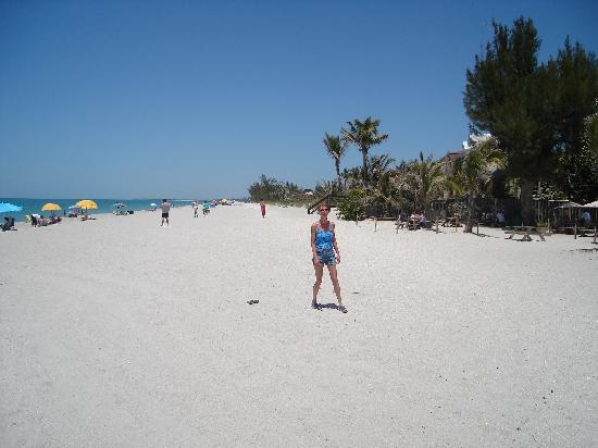 Periwinkle Cottages of Sanibel: my baby on the beach.......