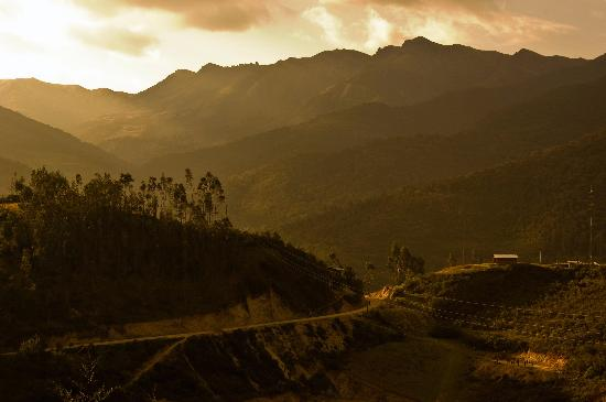 Tingo, Peru: View from Choctamal