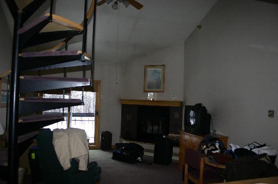 2 story studio loft picture of the vintage resort hotel. Black Bedroom Furniture Sets. Home Design Ideas