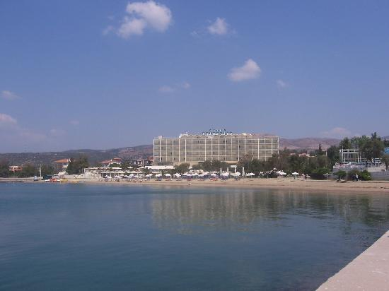Palmariva  Beach Bomo Club : View of Hotel from Prom