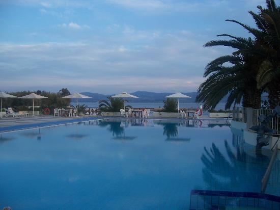Érétrie, Grèce : The Pool