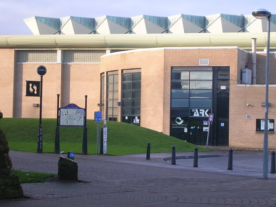 ‪‪Ayr‬, UK: Citadel Leisure Centre, Ayr Harbour - cheap & cheerful municipal swim!‬