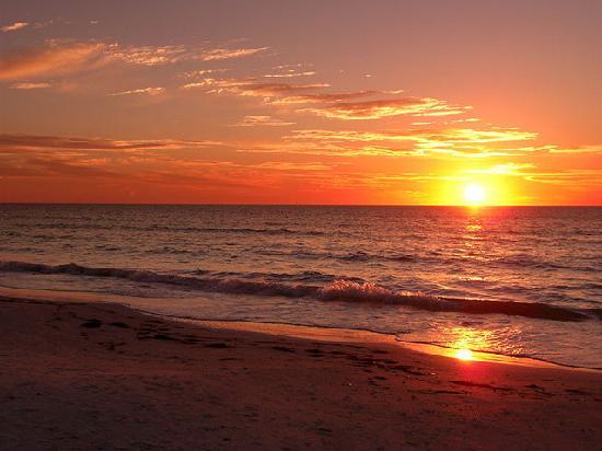 Inn on the Beach: A Sunset