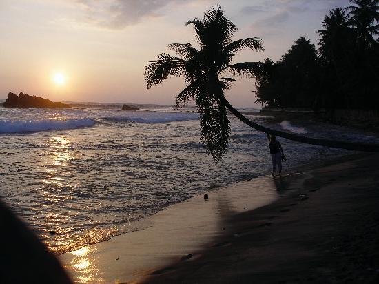 Sri Gemunu Beach Resort: grandiose Sonnenuntergänge
