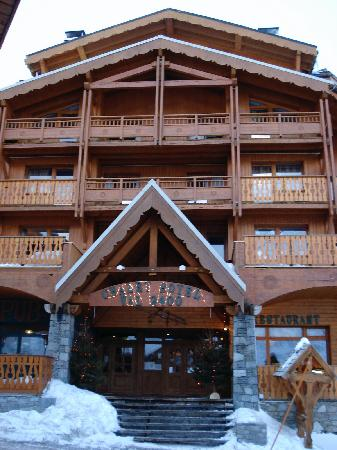 Residence Chalet Val 2400 : The front of Chalet Val 2400
