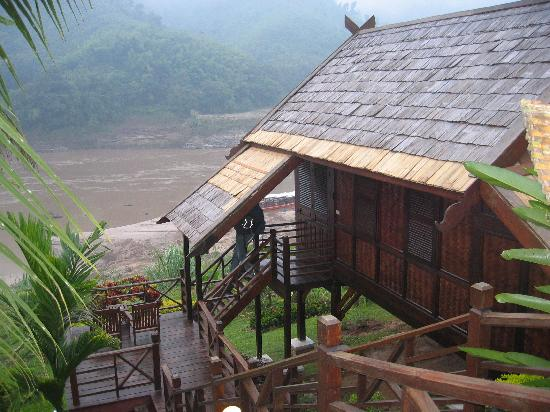 Pakbeng, Laos: Our lodge