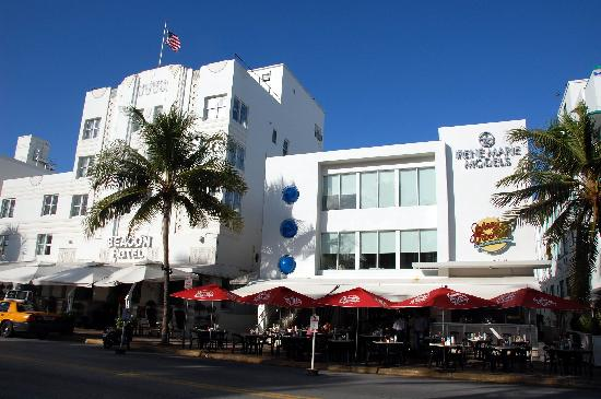 Beacon South Beach Hotel The And Johnny Rockets Sobe