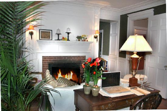 Mabbett House : Fireplace in the Living Room