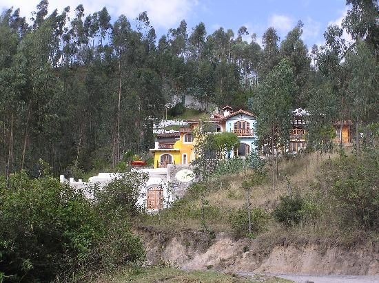 Peguche, Ecuador: from the bottom of the hill
